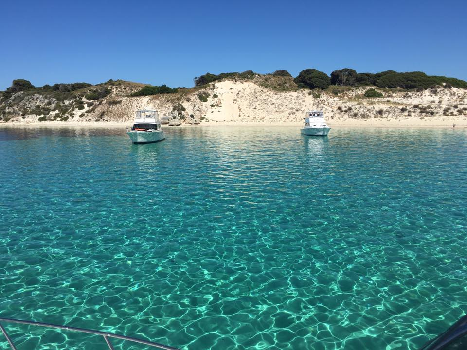 a view of the picturesque waters of Carnac Island