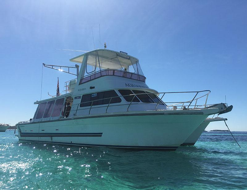 perth boat charter vessel